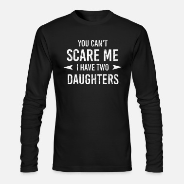 Father And Daughter Father Two Daughters - Men's Longsleeve Shirt