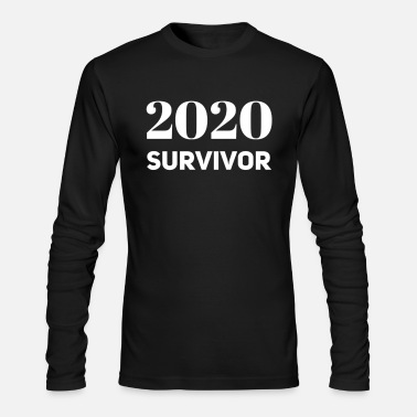 2020 survivor - Men's Longsleeve Shirt