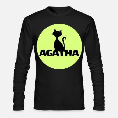 Name Day Agatha Name First name Name Motif name day - Men's Longsleeve Shirt