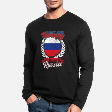 Kgb Moscow Russia National flag - Men's Longsleeve Shirt