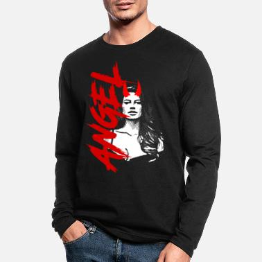 Sexy Mom 2reborn ANGEL sexy Teufel Devil Hölle wh - Men's Longsleeve Shirt