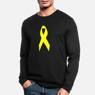 Yellow Ribbon yellow ribbon - Men's Longsleeve Shirt