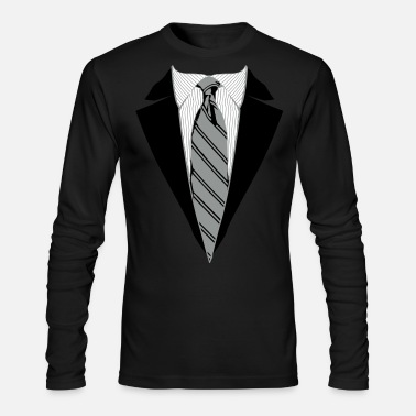 Suit Suit and Tie Tee, Coat and Tie T-shirt - Men's Longsleeve Shirt
