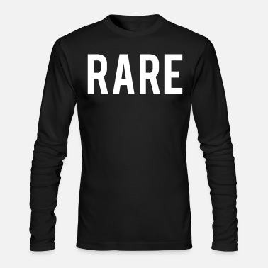 Rare Rare - Men's Long Sleeve T-Shirt by Next Level