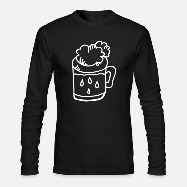 I Love Beer I Love Beer And To Party - Men's Longsleeve Shirt