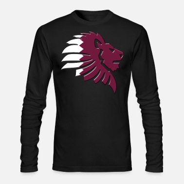 Qatar Qatar - Men's Long Sleeve T-Shirt by Next Level