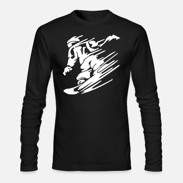 Snowboard Snowboarders Snowboarding Snowboarders Snowboard - Men's Long Sleeve T-Shirt by Next Level