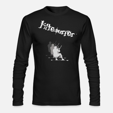 Kiteboard Kiteboarding Kiteboarding Kiteboarding Kiteboard - Men's Long Sleeve T-Shirt by Next Level
