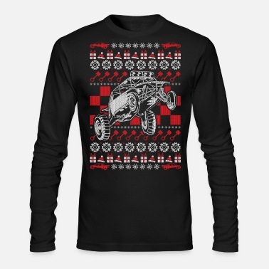 Sand Ugly Christmas Dune Buggy - Men's Longsleeve Shirt