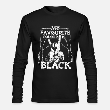 Heavy Metal Black Metal Shirt - Men's Longsleeve Shirt