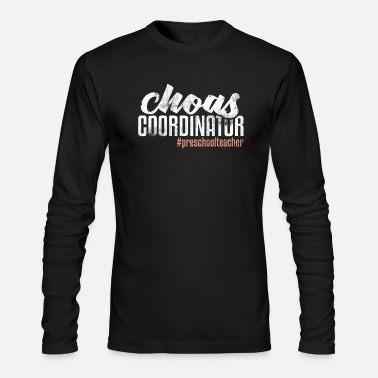 Coordinates Chaos Coordinator - Men's Long Sleeve T-Shirt by Next Level