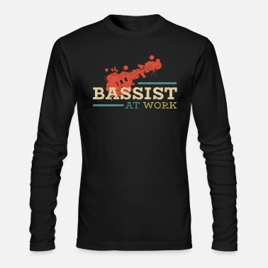 Bassist Bassist at work - Men's Longsleeve Shirt