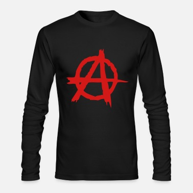 Punk Anarchy - Men's Long Sleeve T-Shirt by Next Level