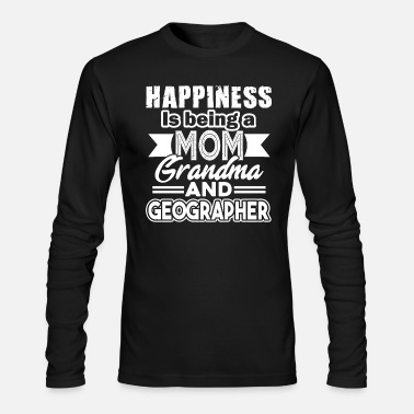 Geographic Geographer - Men's Longsleeve Shirt
