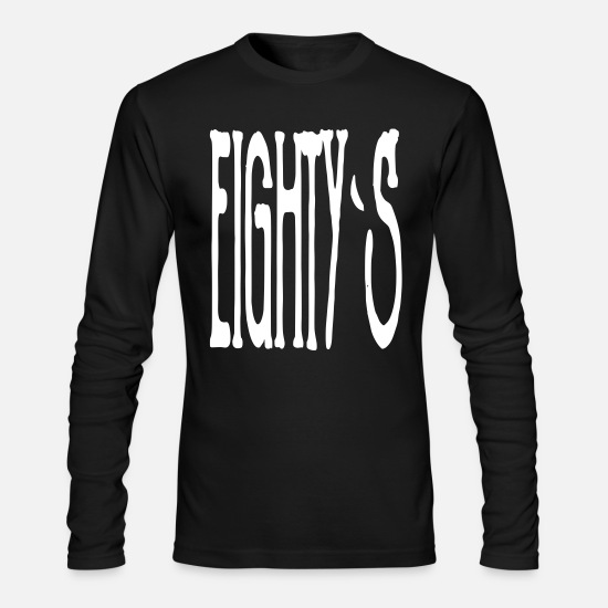 Idea Long-Sleeve Shirts - eightys - Men's Longsleeve Shirt black