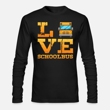 school bus t shirts - Men's Longsleeve Shirt