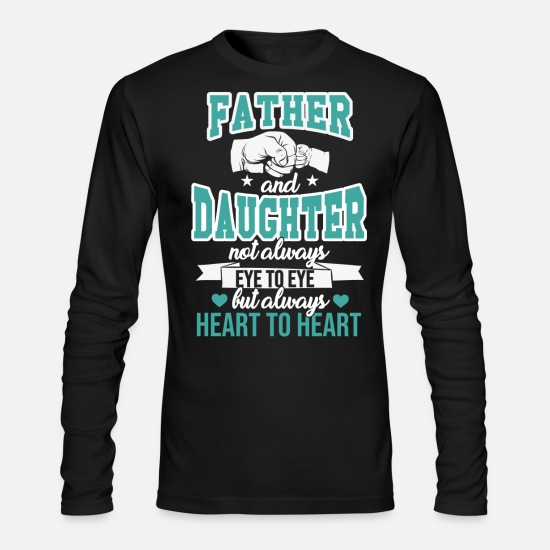 Daughter Long-Sleeve Shirts - Father And Daughter - Men's Longsleeve Shirt black