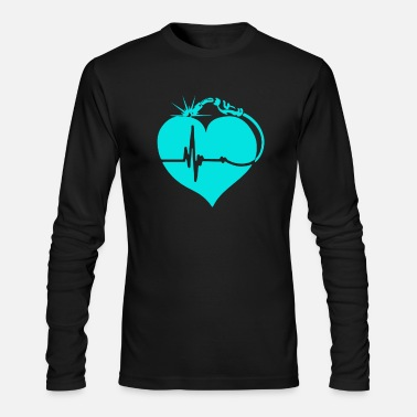 Welder Welder - Welder - welder prince heartbeat - Men's Long Sleeve T-Shirt by Next Level