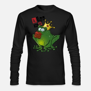 Frog Prince - Men's Long Sleeve T-Shirt by Next Level