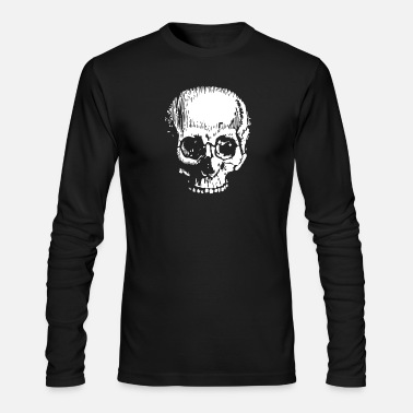 Large Large Skull - Men's Longsleeve Shirt