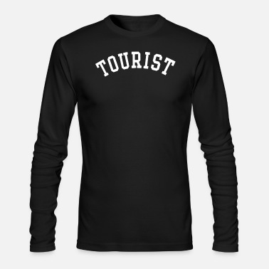 Tourist tourist - Men's Long Sleeve T-Shirt by Next Level