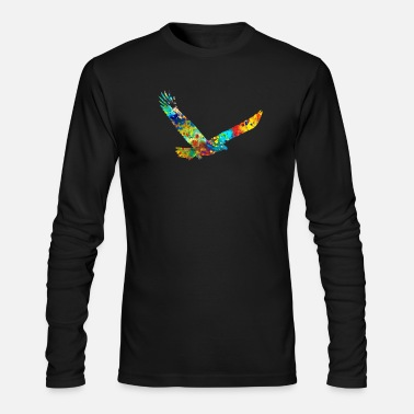 American Eagle American Eagle - Men's Long Sleeve T-Shirt by Next Level