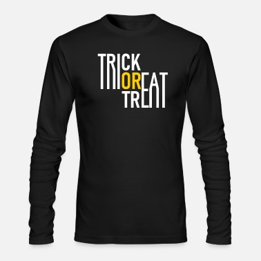 Grave Trick or Treat - Halloween - Pumpkin - Zombie - Men's Longsleeve Shirt