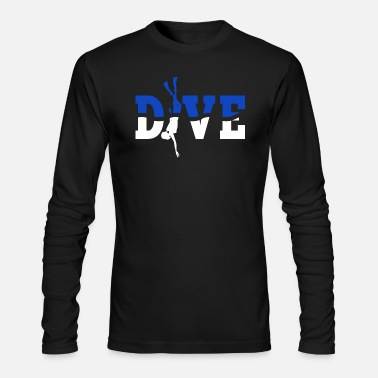 DIVE Blue - Men's Longsleeve Shirt