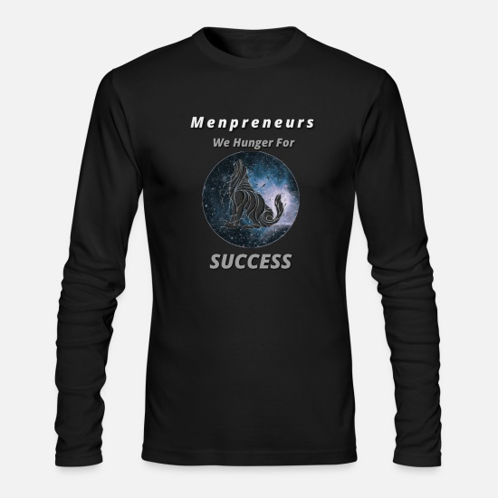 Workaholic Long-Sleeve Shirts - MENPRENEUR - Men's Longsleeve Shirt black