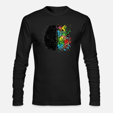 brain MATHS - Men's Longsleeve Shirt