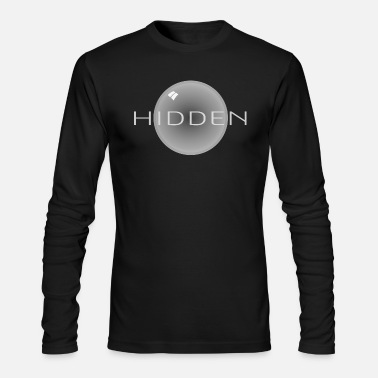 3d HIDDEN BW - Men's Longsleeve Shirt