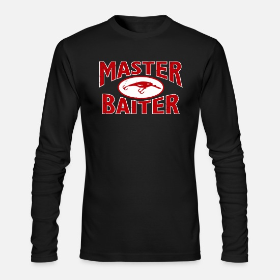 Lure Long-Sleeve Shirts - Master Baiter Lure Funny - Men's Longsleeve Shirt black