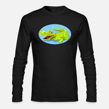 Crocodile Crocodile - Men's Long Sleeve T-Shirt by Next Level