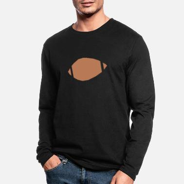 Inflated Oval Football - Men's Longsleeve Shirt