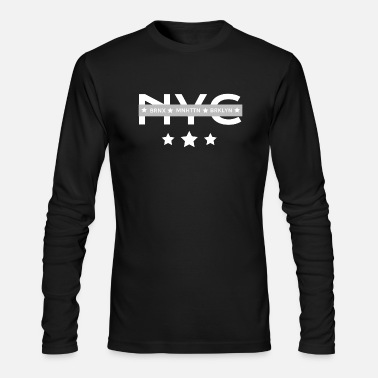 Borough NYC Boroughs - Men's Long Sleeve T-Shirt by Next Level