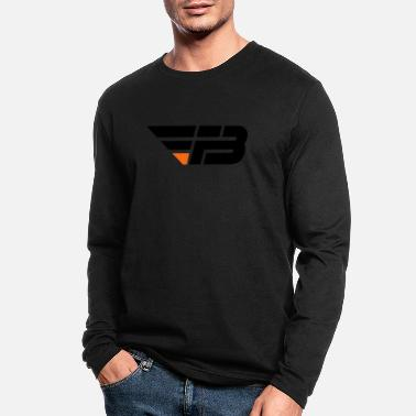 FBL Black Orange no na - Men's Longsleeve Shirt