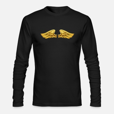 Angels Wings golden-angel-wings-angelic-wings - Men's Longsleeve Shirt