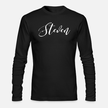 Steven Steven - Men's Long Sleeve T-Shirt by Next Level