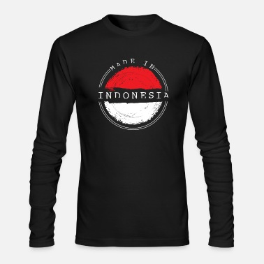 Indonesia Indonesia - Men's Long Sleeve T-Shirt by Next Level
