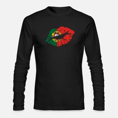 Portugal Portugal - Men's Long Sleeve T-Shirt by Next Level