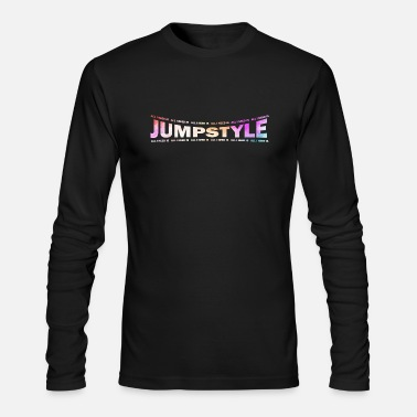Jumpstyle LOVE TECHNO GESCHENK goa pbm JUMPSTYLE hippie - Men's Long Sleeve T-Shirt by Next Level