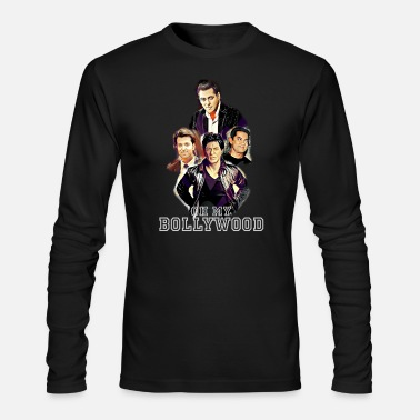 Bollywood Oh My Bollywood Stars - Men's Long Sleeve T-Shirt by Next Level