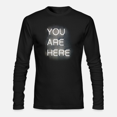 Neon Neon - Men's Long Sleeve T-Shirt by Next Level