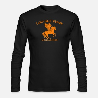 Half Camp Half Blood - Men's Long Sleeve T-Shirt by Next Level