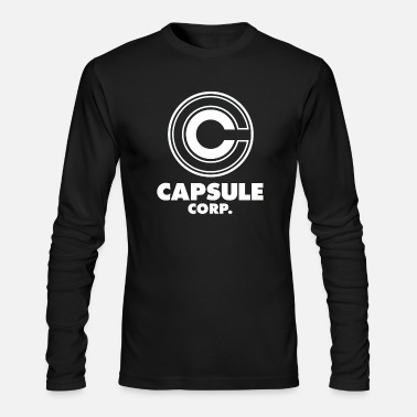Capsule Corp Capsule Corp - Men's Long Sleeve T-Shirt by Next Level