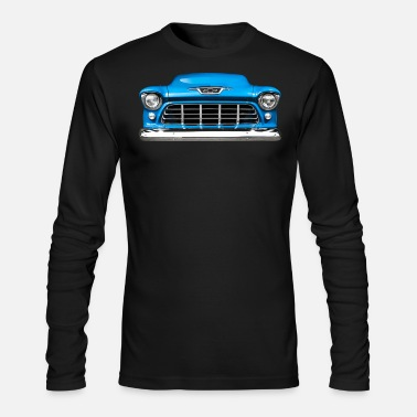 55 Chevy 3100 grille Men's T-Shirt | Spreadshirt