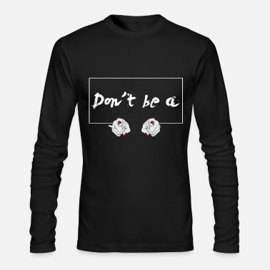 Square Be No * Square * - Men's Long Sleeve T-Shirt by Next Level