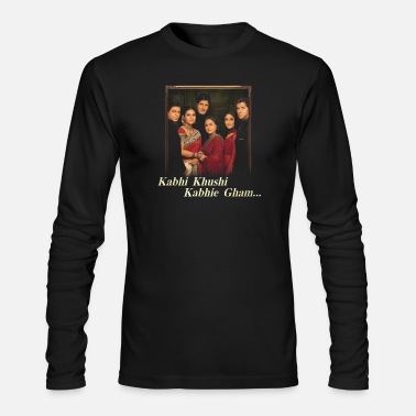 Bollywood Kabhi Khushi Kabhi Gham T-Shirt - Men's Long Sleeve T-Shirt by Next Level