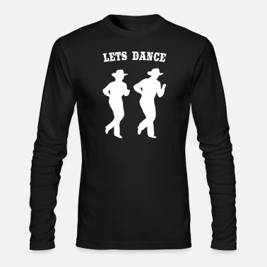 Line Dancing LINE DANCING - Men's Long Sleeve T-Shirt by Next Level
