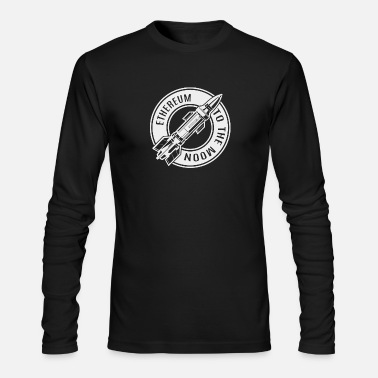 Ethereum Ethereum to the moon - Men's Longsleeve Shirt